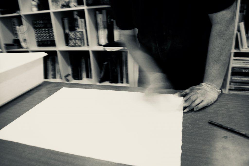 papier drukklaar maken